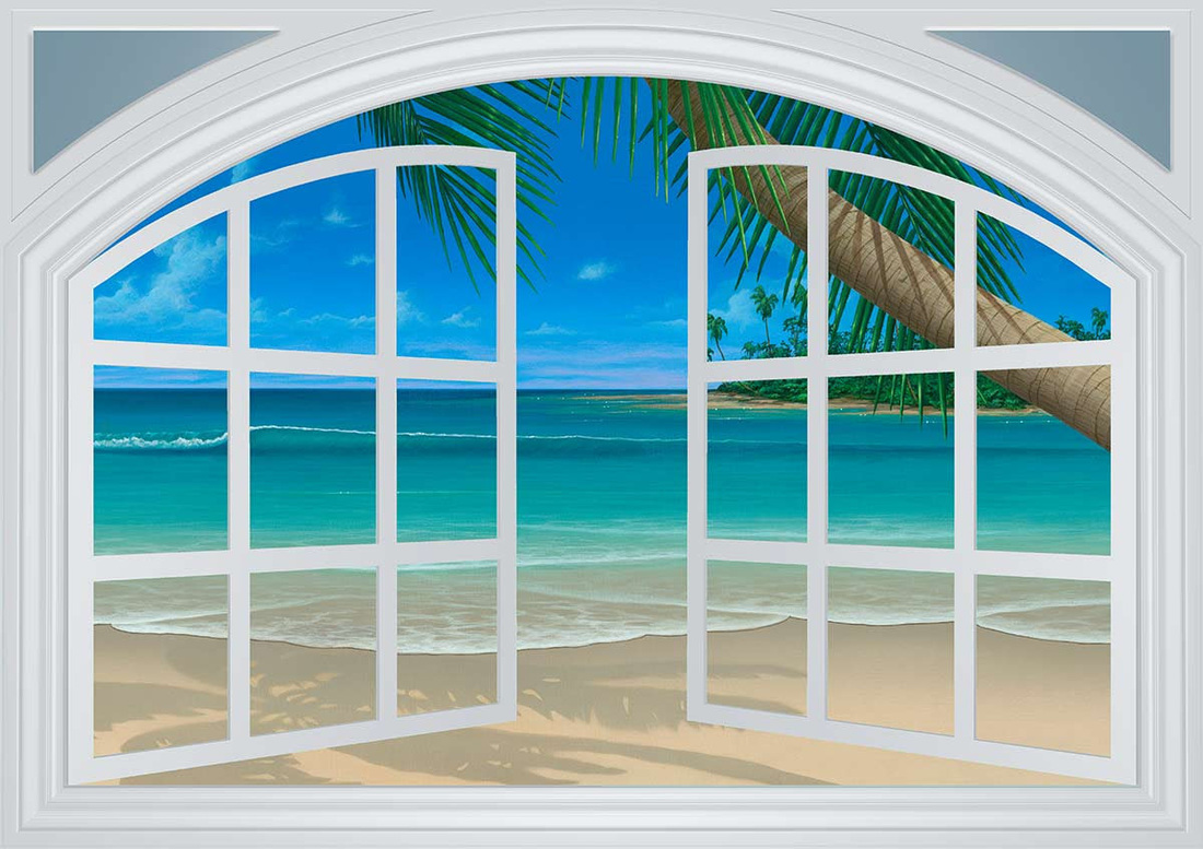 scenic window film palm tree beach inspirations jamie mcelrath scenic artist